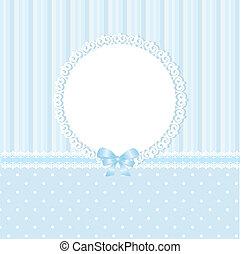 blu, bambino, fondo