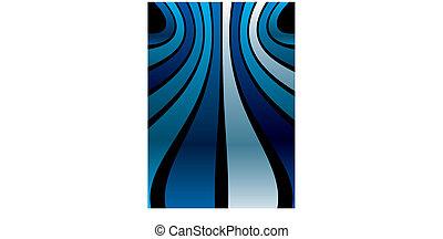 blu, banda, striscia, fondo