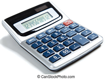 blu, calcolatore, bianco, buttoned