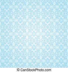 blu, carta da parati, gotico, seamless