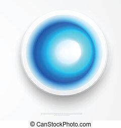 blu, cerchio, etichette, rettangolo, vuoto