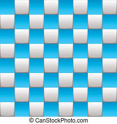 blu, checkered cartolina