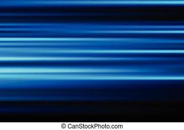 blu, città, astratto, offuscamento, lungo, movimento, luci, vettore, fondo, notte, velocità, esposizione