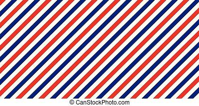 blu, classico, colorare, bandiera, strisce diagonali, colorare, vettore, retro, fondo, posta aerea, rosso