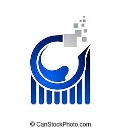 blu, colorare, worksheet, analisi, internet, logotipo, dati