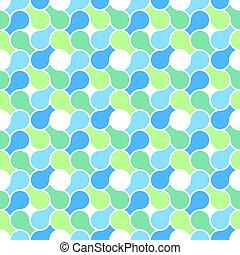 blu, colore pastello, modello, astratto, -, involucro, seamless, struttura, vettore, verde