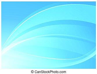 blu, concetto, fondo
