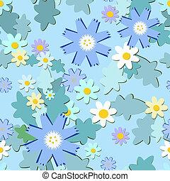 blu, cornflowers, fondo
