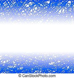 blu, fondo., astratto, linea