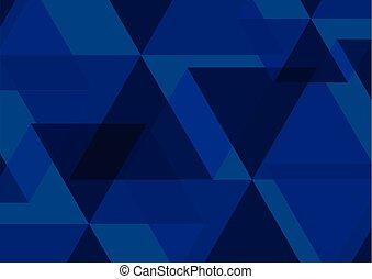 blu, fondo., astratto, vettore, illustrazione