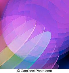 blu, fondo., cerchio, astratto