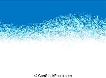 blu, gelo, inverno, fondo, ghiaccio
