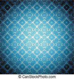blu, gotico, carta da parati, pallido