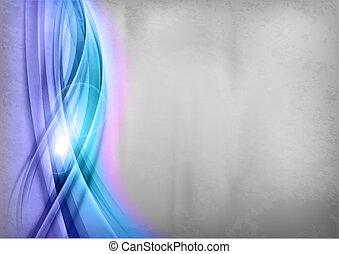 blu, -, grigio, fondo