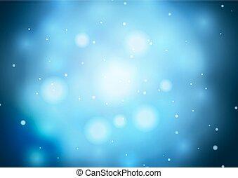blu, magia, astratto, luce, luminoso, fondo