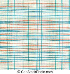 blu, modello, astratto, linee, seamless