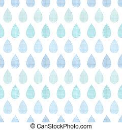 blu, modello, astratto, zebrato, pioggia, seamless, tessile, fondo, gocce