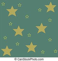 blu, modello, fondo, disegno, giallo, stelle