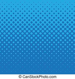 blu, modello, puntino