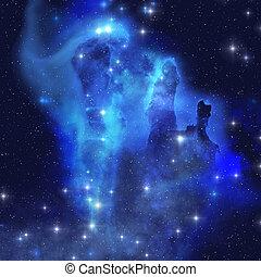 blu, nebula aquila