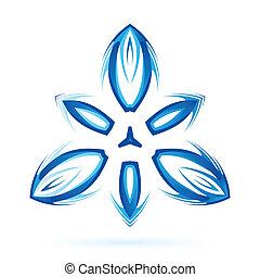 blu, ombra, tonalità, astratto