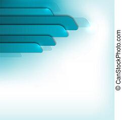 blu, opuscolo, moderno