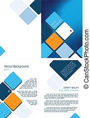 blu, opuscolo