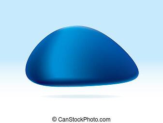 blu, organico, marmo
