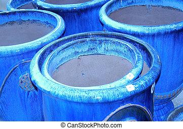 blu, otri, argilla
