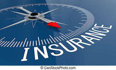 blu, parola, assicurazione, bussola
