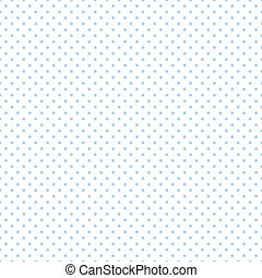 blu, pastello, punti, bianco, seamless