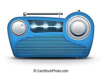 blu, radio