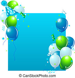 blu, scheda compleanno