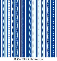 blu, &, seamless, luminoso, striscia, bianco