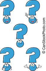 blu, set, domanda, collezione, marchio