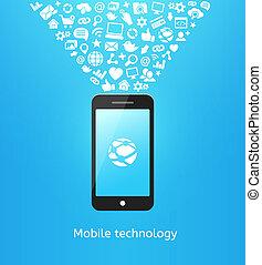 blu, smartphone