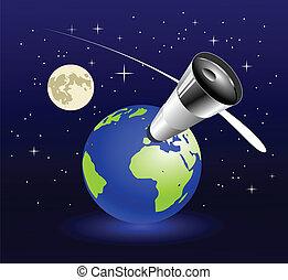blu, terra, pianeta