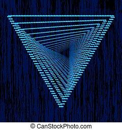 blu, triangle., triangolo, fondo, logotype., luce, astratto, moderno, torto, geometrico, effects., forma, vettore, disegno, sagoma, tuo, illustration.