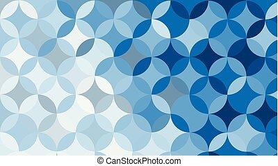 blu, vettore, astratto, illustrazione, fondo, cerchio