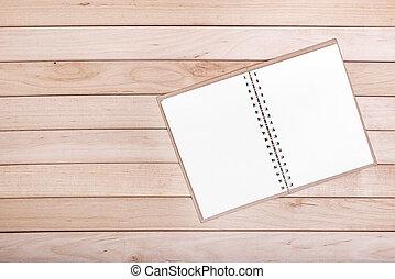boards., legno, quaderni, fondo