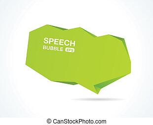 bolla, discorso, astratto