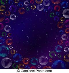 bolle, spazio