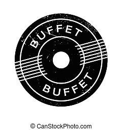 bollo gomma, buffet