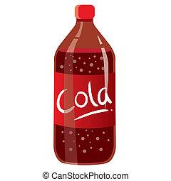 bottiglia, cola