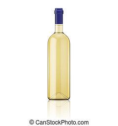 bottle., vino bianco