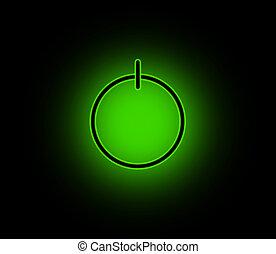 bottone, alimentazione verde
