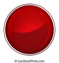bottone, rosso