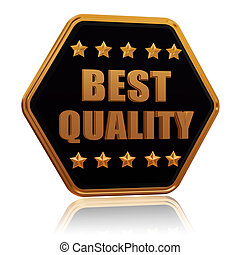 bottone stella, cinque, esagono, qualità, meglio
