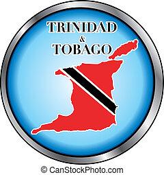 bottone, tobago, rotondo, trinidad