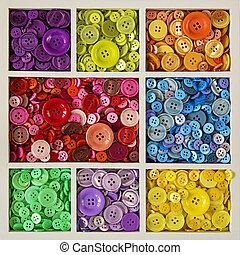bottoni, colorito